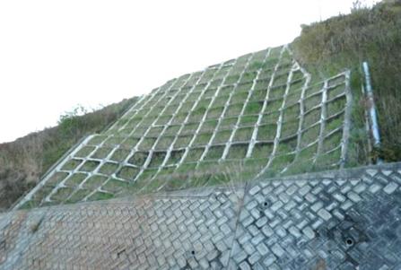 簡易吹付法枠工:ソイルクリート工法 へのパーマリンク