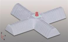 ソイルクリート工法 (欠円形状イメージ)